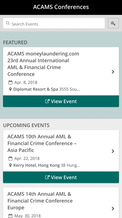 ACAMS Conferences by ACAMS Inc
