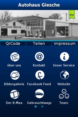 Screenshot of Autohaus Giesche