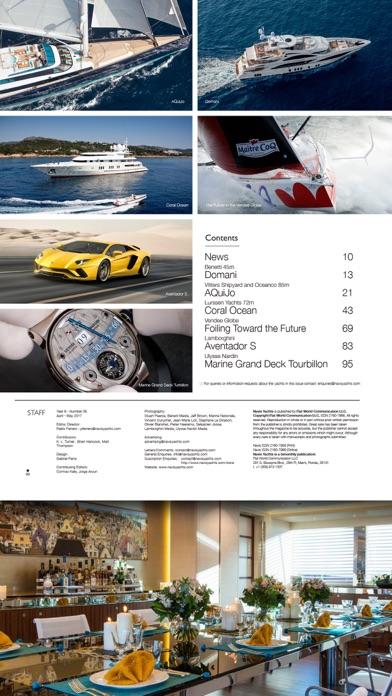 Navis Luxury Yachts Magazine Скриншоты6