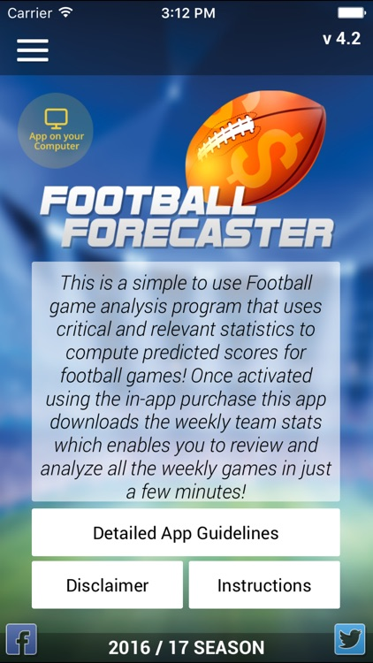 Football Forecaster screenshot-0