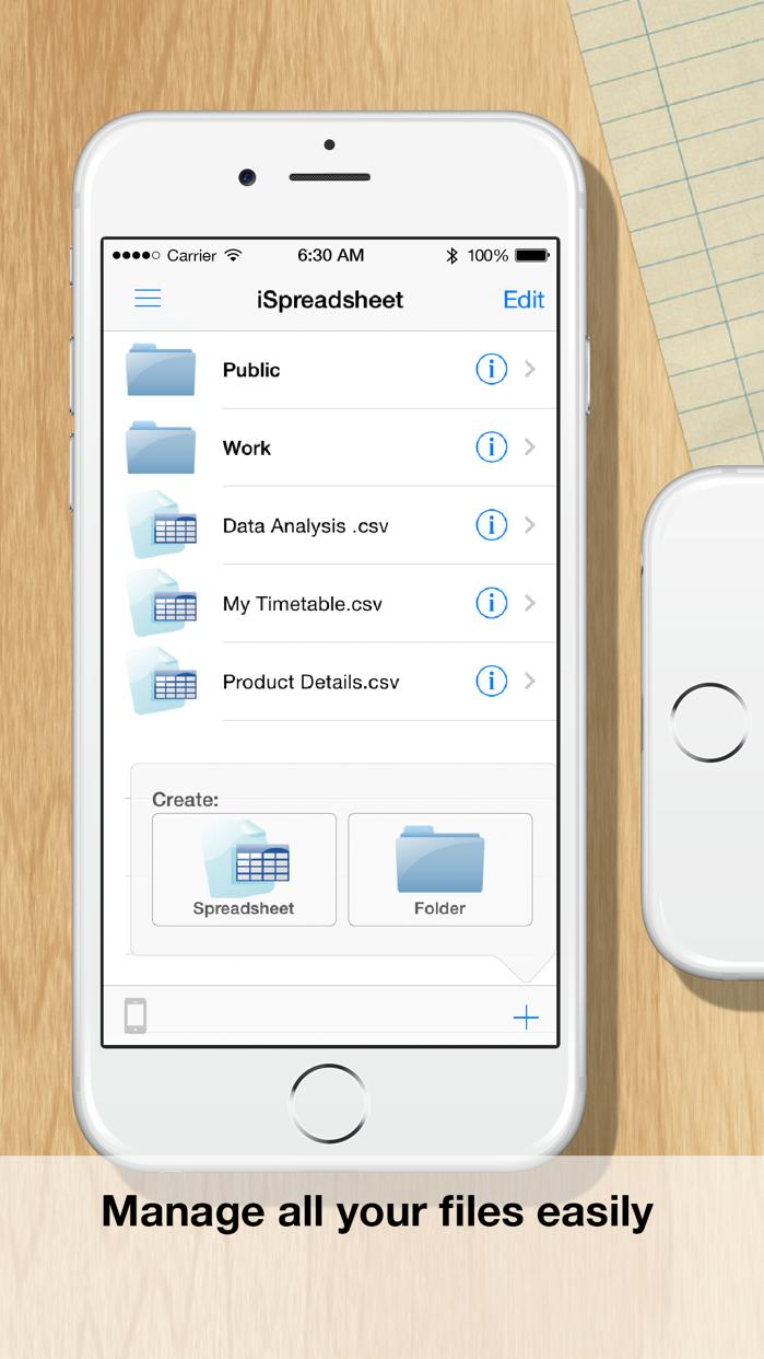 iSpreadsheet™ : Office Sheets Screenshot