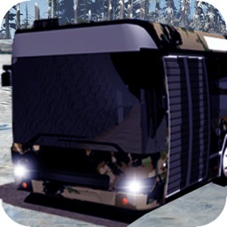 Snow Bus Drive Simulator 3D