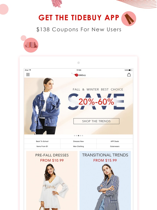 Tidebuy Fashion Shopping On The App Store