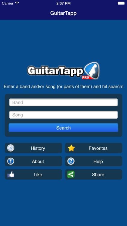 GuitarTapp PRO - Tabs & Chords screenshot-4