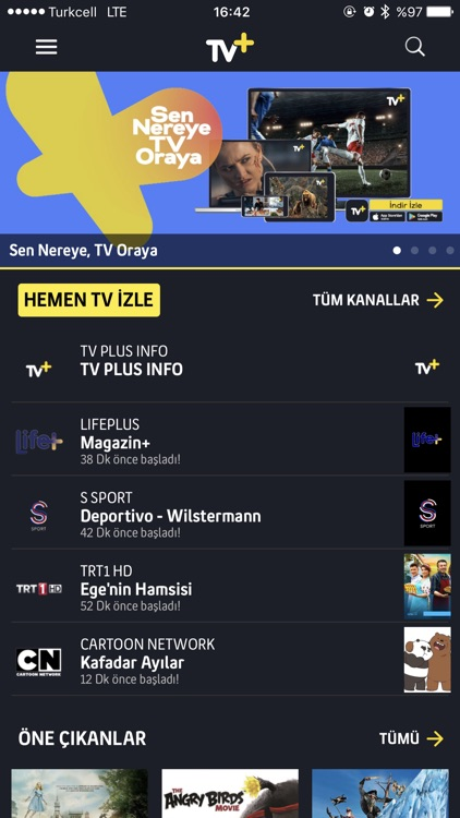 Turkcell TV+ screenshot-1