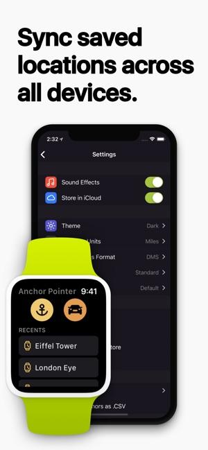 Anchor Pointer Screenshot