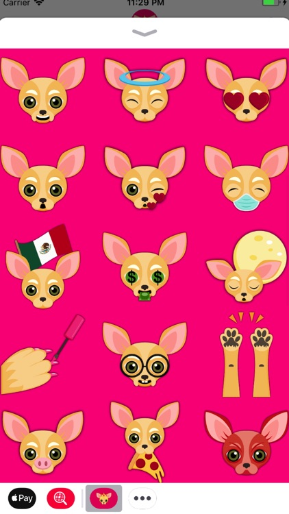 Fawn Chihuahua Emoji Stickers screenshot-2