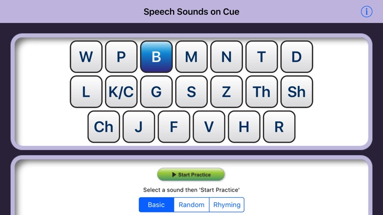 Speech Sounds on Cue (US English)