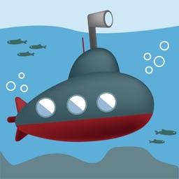 Submarine naval battle