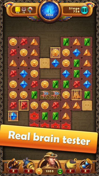 Legend & Jewels - Puzzle Quest screenshot-2
