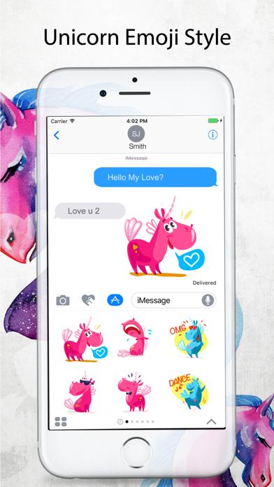 Unicorn Stickers Pack - Emoji screenshot two