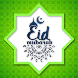 Eid Mubarak Greeting Card+