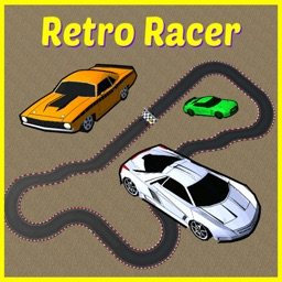 Retro Racer arcade race game