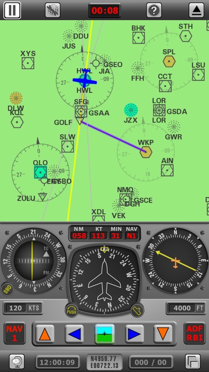 Radio Navigation Simulator IFR screenshot-2