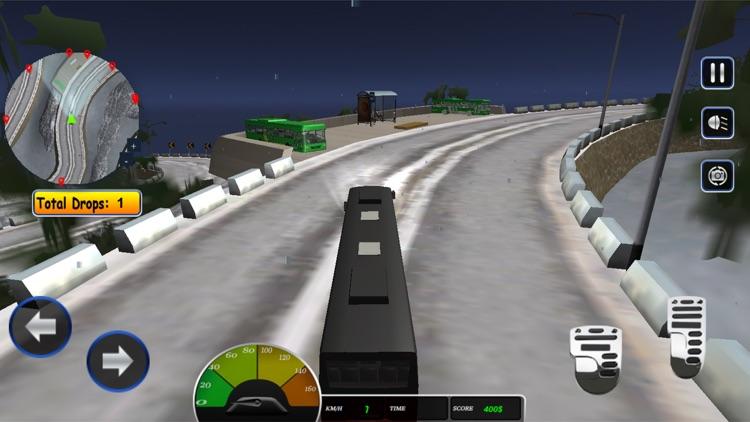 Uphill Passenger Bus Driver