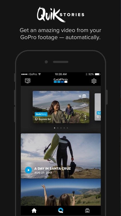 GoPro (formerly Capture) – Featuring QuikStories screenshot-0