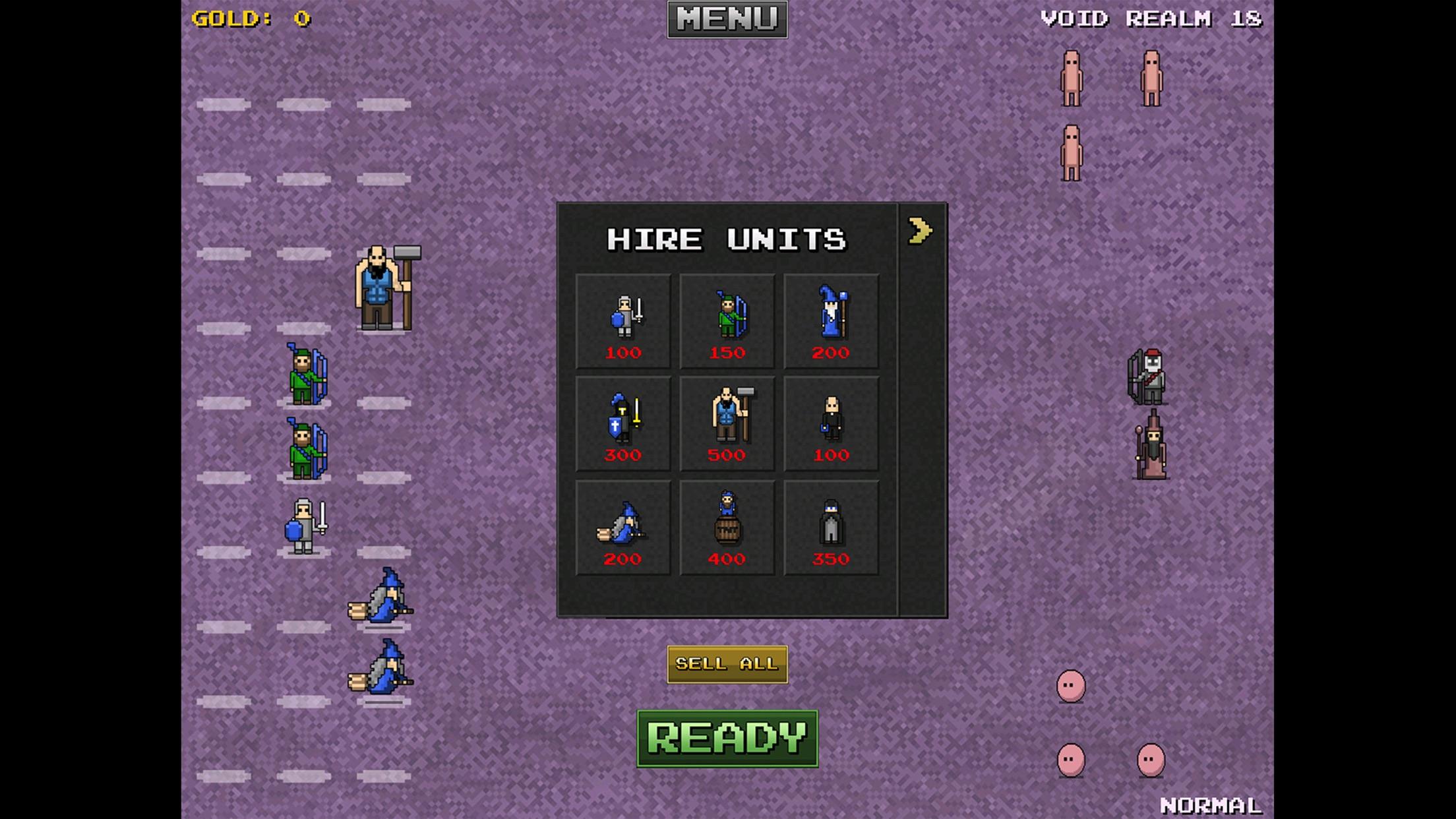Screenshot do app 8bitWar: Netherworld