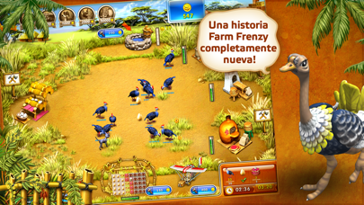 Farm Frenzy 3 Madagascar LiteCaptura de pantalla de1