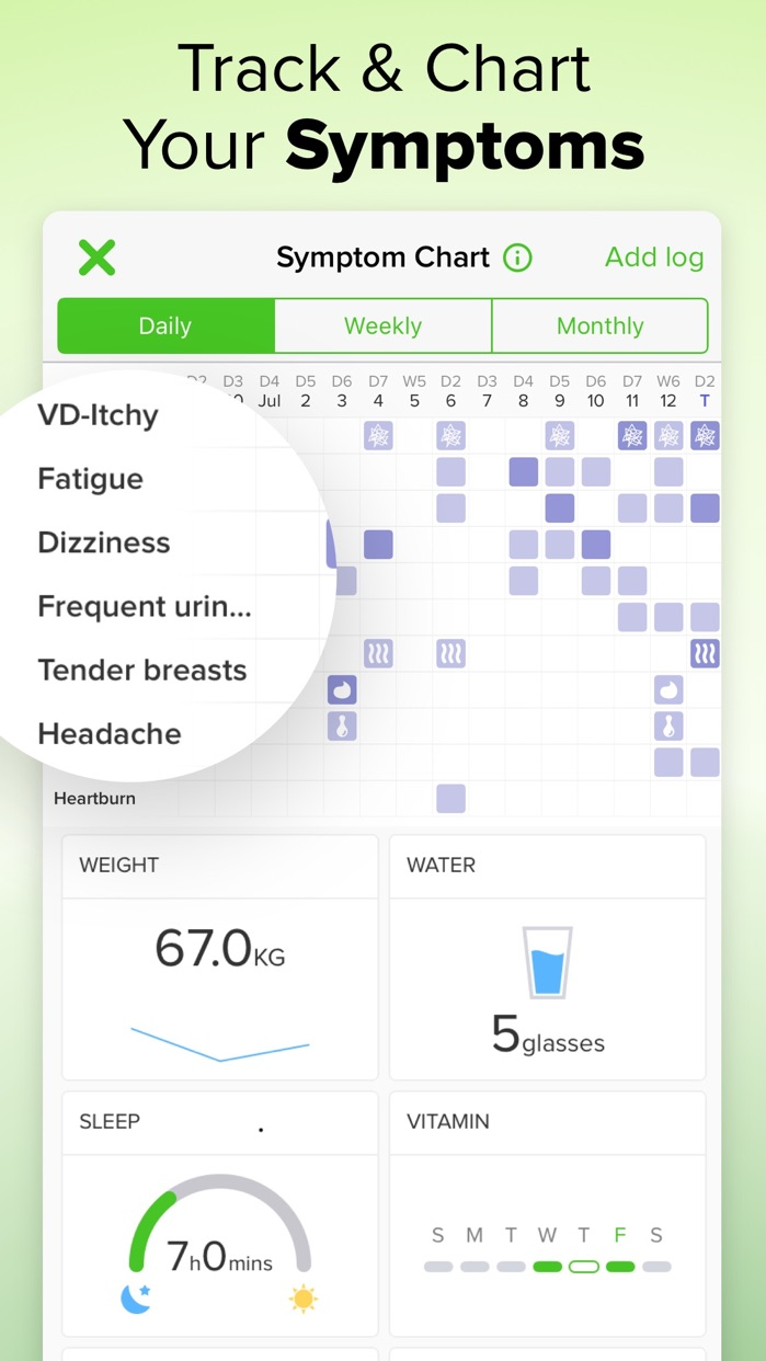 Glow Nurture - Pregnancy App Screenshot