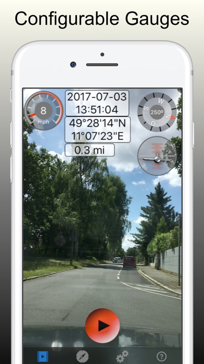 Car Camera - Video Speedometer screenshot-4