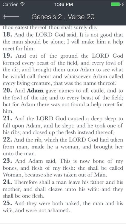 Holy Bible (King James) screenshot-4
