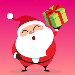 Santa Claus Christmas Sticker