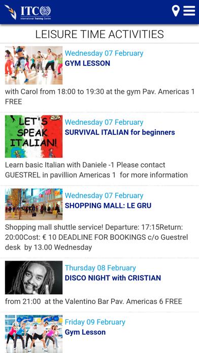ITCILO Campus Life screenshot three