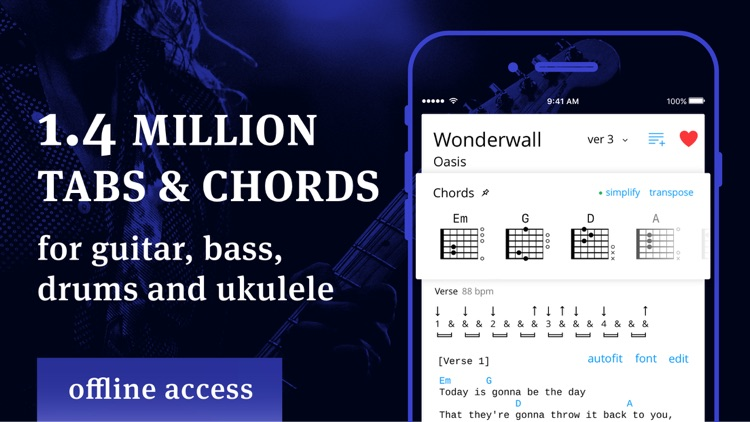 Tabs & Chords - learn and play