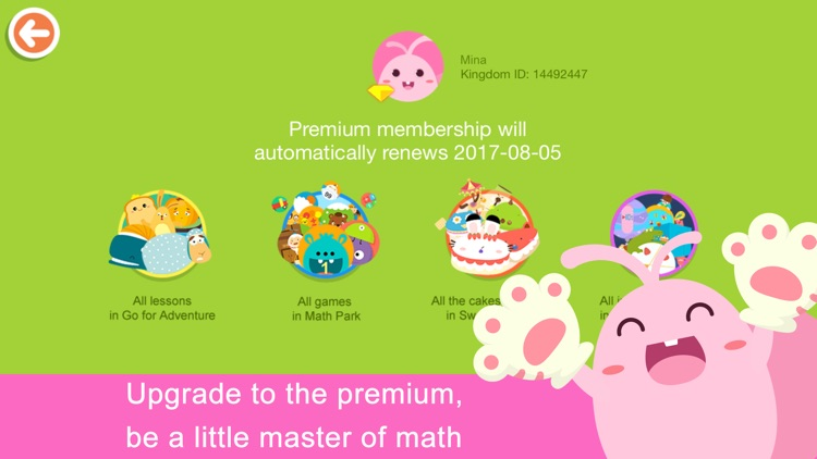 Math Kingdom-A Math Learning Trip with Miya, Mina screenshot-4