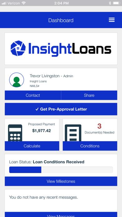 Insight Loans screenshot two