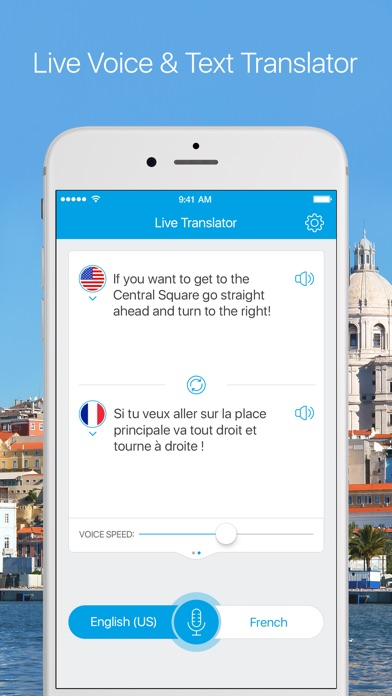 Live Translator - Instant Voice & Text Translator Screenshot 2