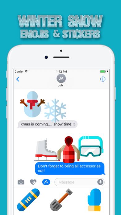 Winter Snow Emojis & Stickers