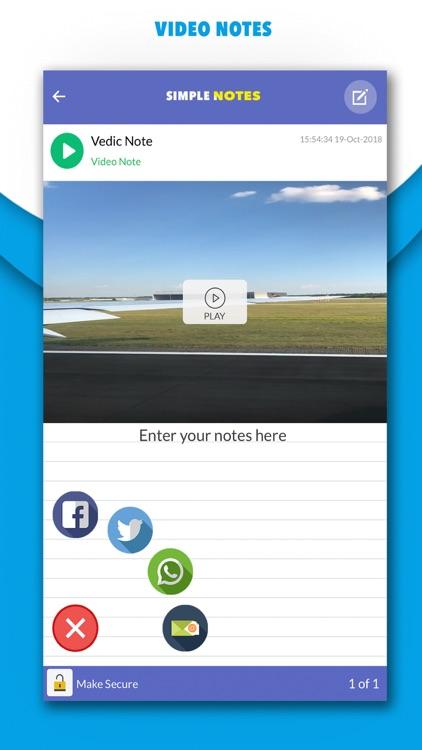 Simple Notes - Notetaking screenshot-7