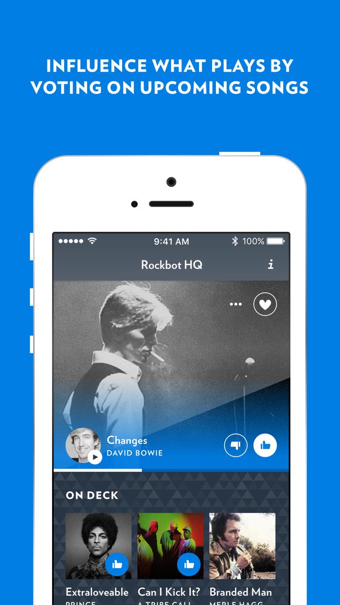 Rockbot DJ Screenshot
