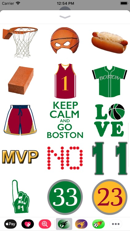 Basketball Pack City Of Boston screenshot-3