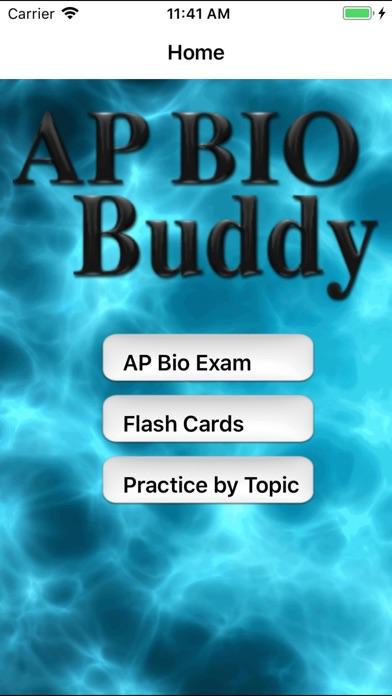 AP Bio Buddy Screenshots