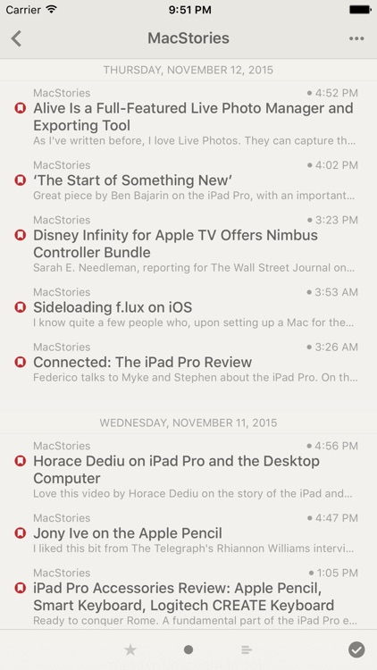 Reeder 3 screenshot-2