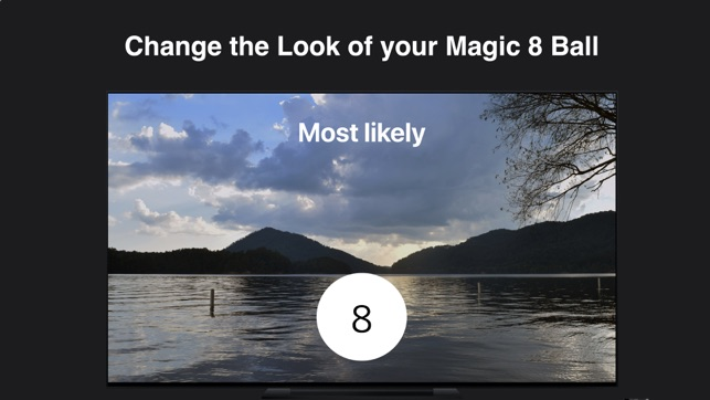 Modern Magic 8 Ball Screenshot