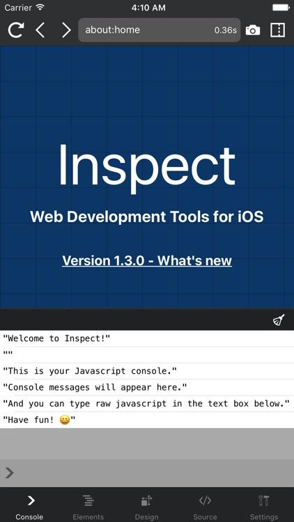 Inspect Browser screenshot-0