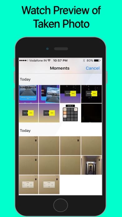 InstaCam - Auto Camera Screenshots