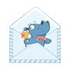 Neeraj . - Cute Hippo Stickers  artwork