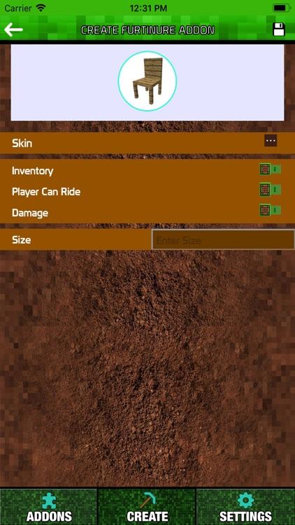 Furniture Addons for Minecraft screenshot-4