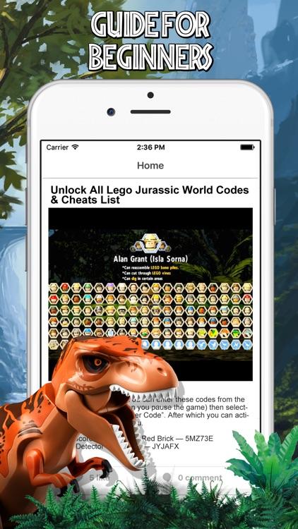 Cheats for LEGO Jurassic World screenshot-3