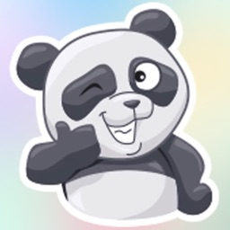 Panda Bear! Stickers