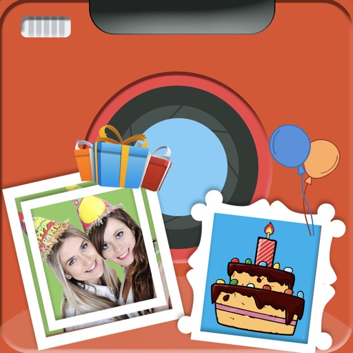 Happy Birthday Photo Frame Top