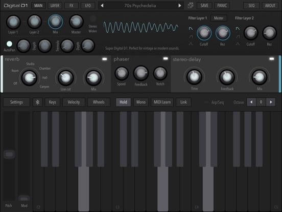 AudioKit Digital D1 Synth screenshot #2