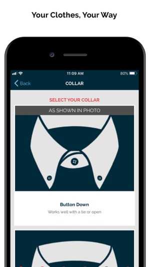 MTailor - Custom Clothing on the App Store