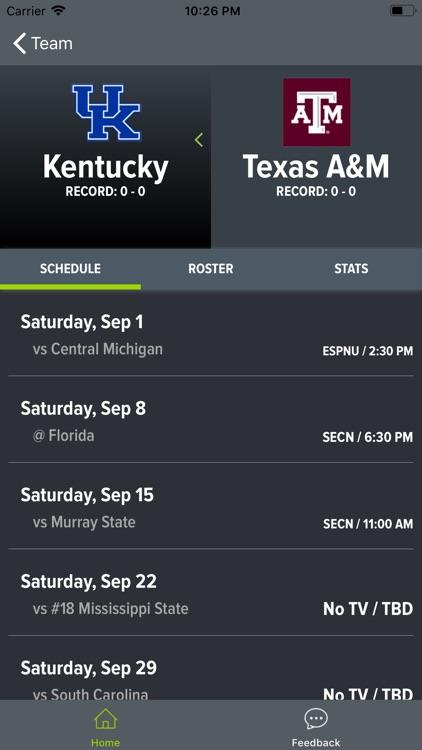 Texas A&M Football screenshot-5