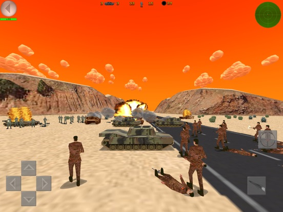 Игра Desert War 3D - Tactical game