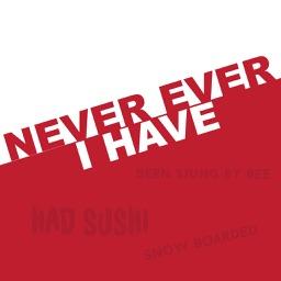 NeveMoji: Never I Have Sticker